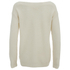 nümph Women's Jumper with Ribbed Edges - Birch: Image 2