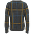 nümph Womens Checked Long Sleeve Jumper - Phantom: Image 2