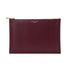Aspinal of London Women's Essential Large Flat Pouch - Burgundy: Image 1