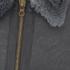 Paul Smith Red Ear Men's Reversible Shearling Donkey Jacket - Elephant Grey: Image 3