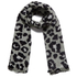 Maison Scotch Women's Lightweight Wool Scarf - Leopard: Image 1