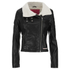 Superdry Women's Roadie Bonnie Biker Jacket - Black: Image 1
