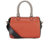 Paul Smith Accessories Women's Leather Bowler Bag - Orange/Black: Image 1