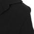Helmut Lang Women's Henley Crepe Shirt - Black: Image 3