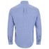 Original Penguin Men's Facade Long Sleeve Shirt - Snorkel Blue: Image 2