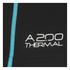 Skins A200 Mens Thermal Long Sleeve Compression Mock Neck Top - Black/Neon Blue: Image 5