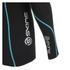 Skins A200 Mens Thermal Long Sleeve Compression Round Neck Top - Black/Neon Blue: Image 4