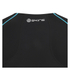Skins A200 Mens Thermal Long Sleeve Compression Round Neck Top - Black/Neon Blue: Image 3