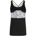 Skins Women's A200 Compression Tank Top - Black/Logo: Image 2