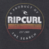Rip Curl Men's Big Mama Circle Crew Neck Sweatshirt - Black: Image 3