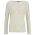 Polo Ralph Lauren Women's Cable Knitted Jumper - Port Cream: Image 1