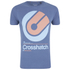 Crosshatch Men's Gazeout Print T-Shirt - Bijou Blue: Image 1