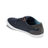 Boxfresh Men's Stern Waxed Canvas Low Top Trainers - Navy/White: Image 5