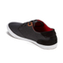 Boxfresh Men's Stern Waxed Canvas Low Top Trainers - Black/Red Chilli: Image 5