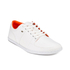 Boxfresh Men's Spencer Waxed Canvas Low Top Trainers - White/Orange: Image 4