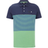 Animal Men's Engine Striped Polo Shirt - Bright Green: Image 1