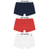 Animal Men's Brit 3-Pack Boxers - Red/Blue/White: Image 1