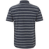 Animal Men's Acre Striped Short Sleeve Shirt - Indigo Blue: Image 2