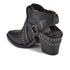Senso Women's Owen I Leather Heeled Ankle Boots - Ebony: Image 4