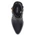 Senso Women's Owen I Leather Heeled Ankle Boots - Ebony: Image 3