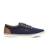 Jack & Jones Men's Vision Mix Canvas Pumps - Navy Blazer: Image 1