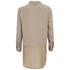 Vero Moda Women's Lotus Long Sleeve Long Shirt - Silver Mink: Image 2