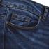 Vero Moda Women's Seven Slim Eye Jeans - Dark Blue Denim: Image 3