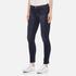 J Brand Women's 811 Mid Rise Skinny Jeans - Oblivion: Image 2