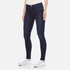 J Brand Women's 23110 Maria High Rise Blue Blend Skinny Jeans - Fix: Image 2