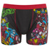 Marvel Men's 2 Pack All Over Print Boxers - Black: Image 2