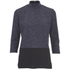 ONLY Women's 3/4 High Neck Zip Top - Night Sky: Image 1