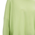 Cocoa Cashmere Women's Round Neck Longer Back Jumper - Lime: Image 3