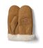 UGG Women's Classic Heritage Logo Mittens - Chestnut: Image 1