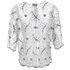 Ganni Women's Lace Blouse - Vanilla Ice: Image 2