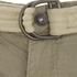 Brave Soul Men's Radical Belted Cargo Shorts - Stone: Image 3