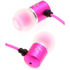 Kitsound Ace Earphones with Mic - Pink: Image 1