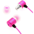 Kitsound Ace Earphones with Mic - Pink: Image 3