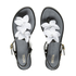 Melissa Women's Solar Hawaii Sandals - Black Contrast: Image 1