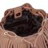 Rebecca Minkoff Women's Fringe Micro Lexi Bucket Bag - Almond: Image 4