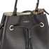 Furla Women's Stacy Drawstring Bucket Bag - Black: Image 5