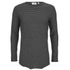 Cheap Monday Men's Foresee Long Sleeve T-Shirt - Black/Grey: Image 1