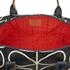 Orla Kiely Women's Stem Zip Holdall Bag - Black: Image 4
