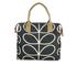 Orla Kiely Women's Stem Zip Messenger Bag - Black: Image 5