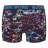 Bjorn Borg Men's Black Garden 2 Pack Boxer Shorts - Blue: Image 3