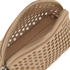 Loeffler Randall Women's Small Perforated Cosmetic Bag - Nude: Image 4