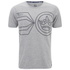Crosshatch Men's Pegasus Print T-Shirt - Grey Marl: Image 1