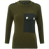 Marc by Marc Jacobs Women's Military Leopard Sweatshirt - Army Green: Image 1