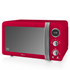 Swan SM22030RN Digital Microwave - Red - 800W: Image 1