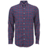 GANT Men's Tiebreak Twill Check Shirt - Mahogany Red: Image 1