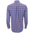 GANT Men's Matchpoint Poplin Check Shirt - Hurricane Blue: Image 2